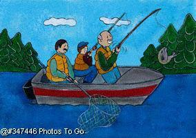 Illustration: Gone fishing